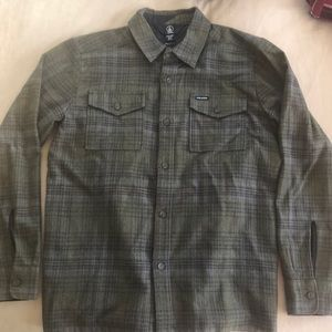 Boys size M ( size 10) Volcom flannel